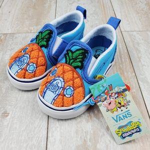 Vans X SpongeBob Slip On Velcro 124 Conch …
